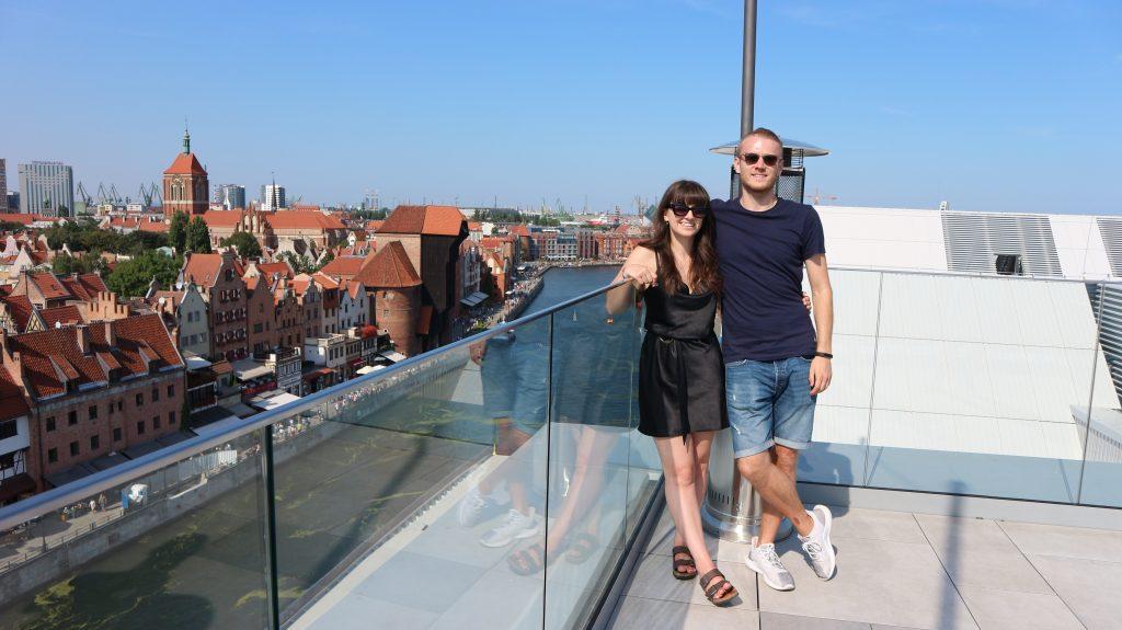 Sassy Rooftop Bar