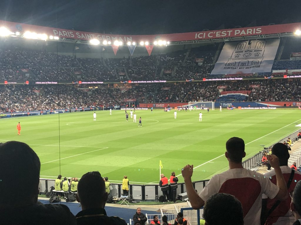 Paris V Monaco Football match
