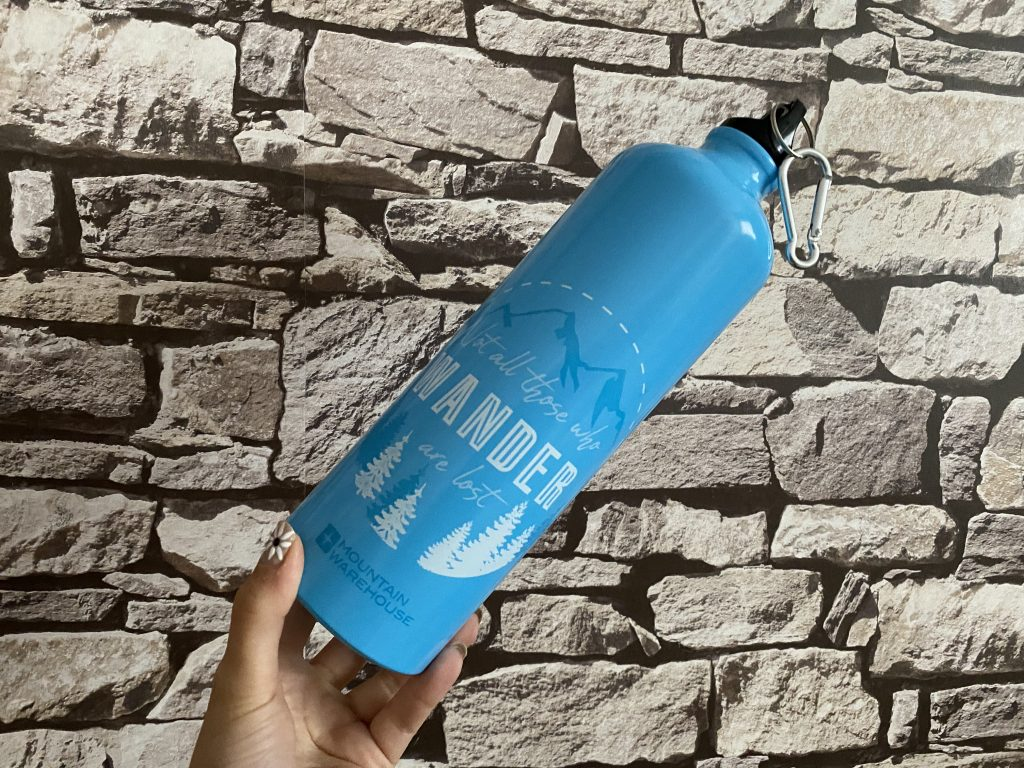Free water at airports - Reusable Waterbottle