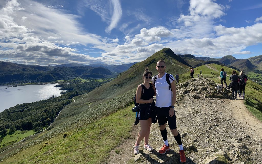 Emma and Michael, Cat Bells, Lake District