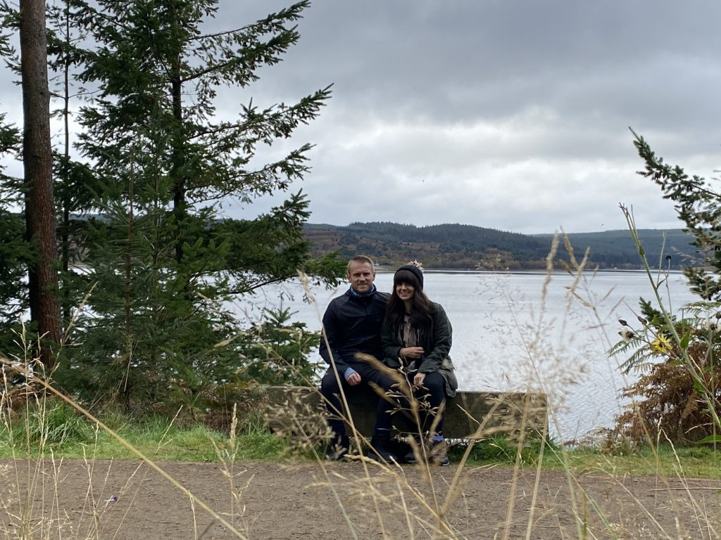 Kielder Lake - walk
