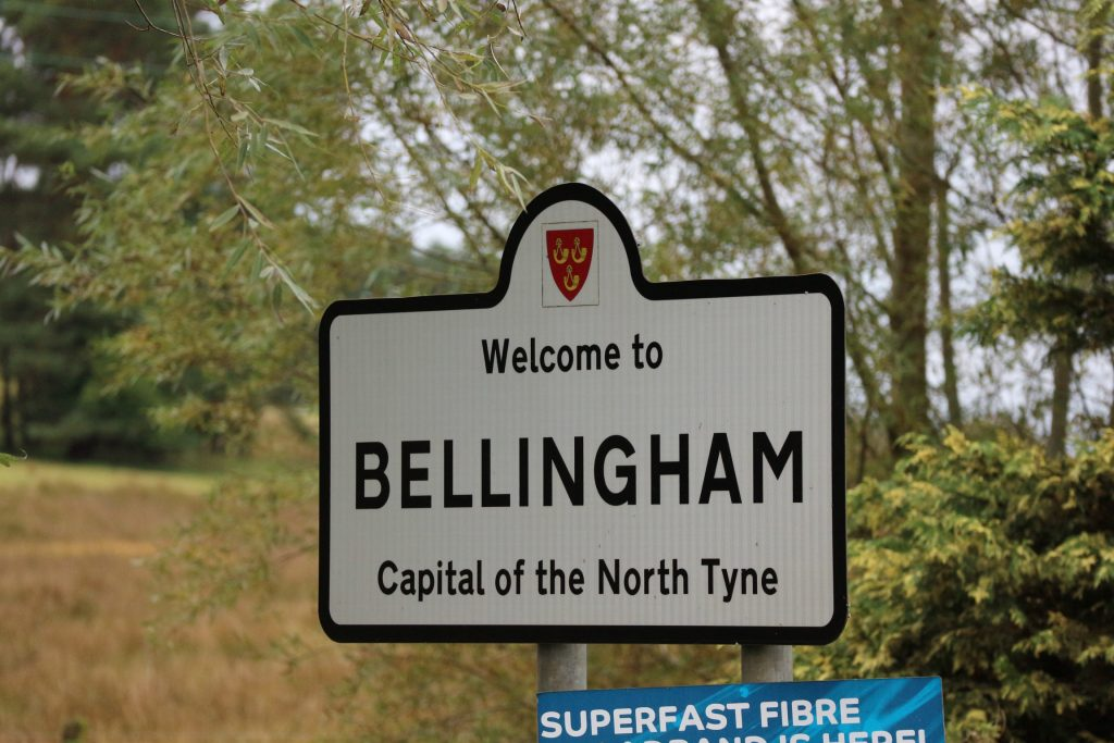 Bellingham Sign Post