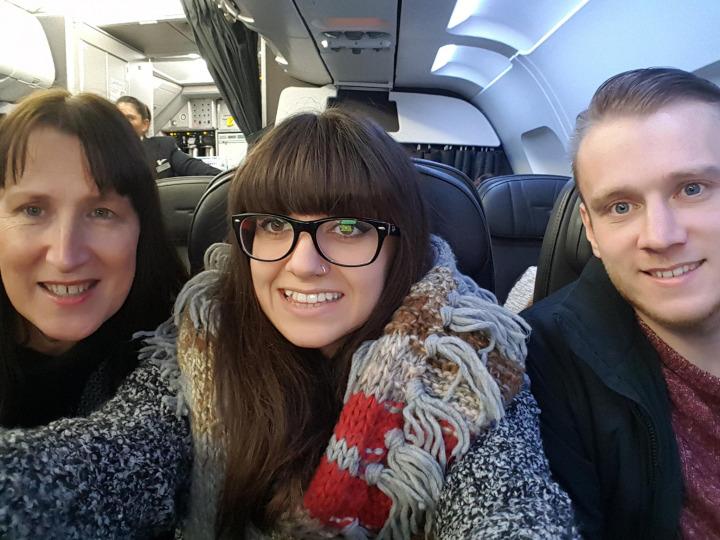 Heathrow to New York JFK flight