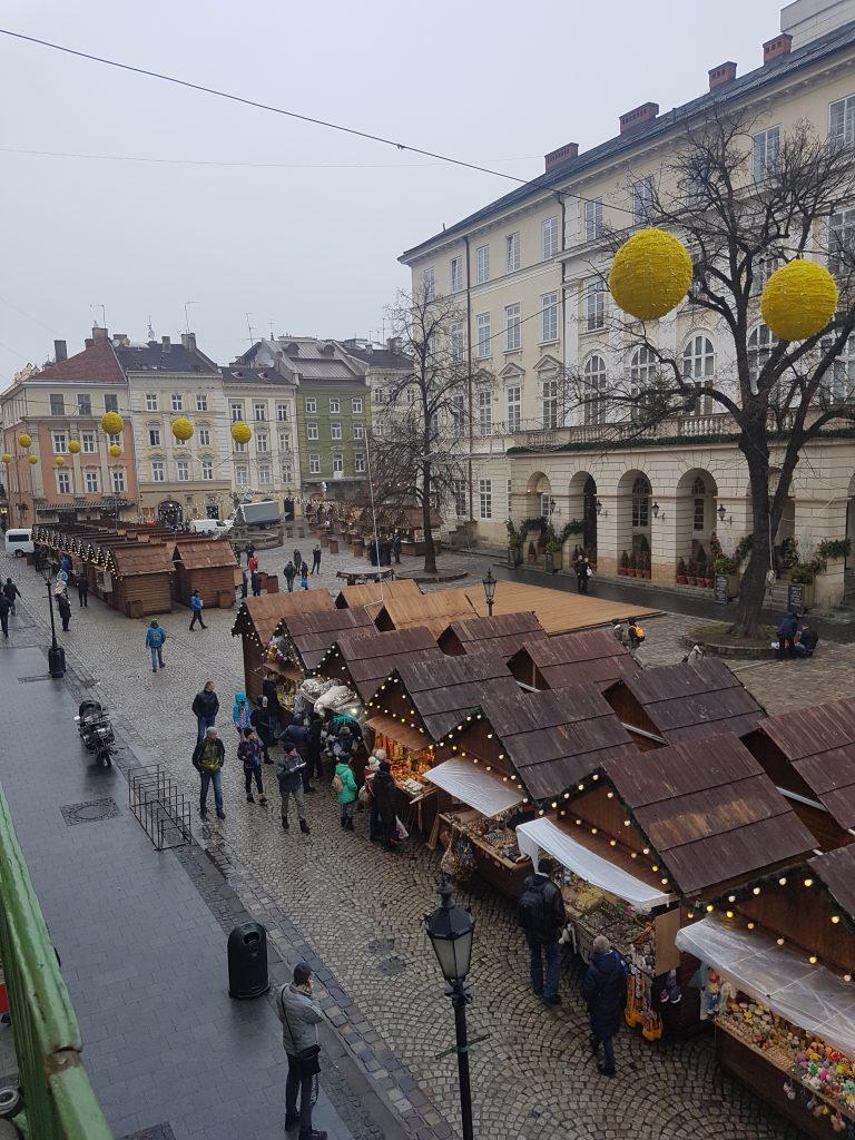 Lviv main square