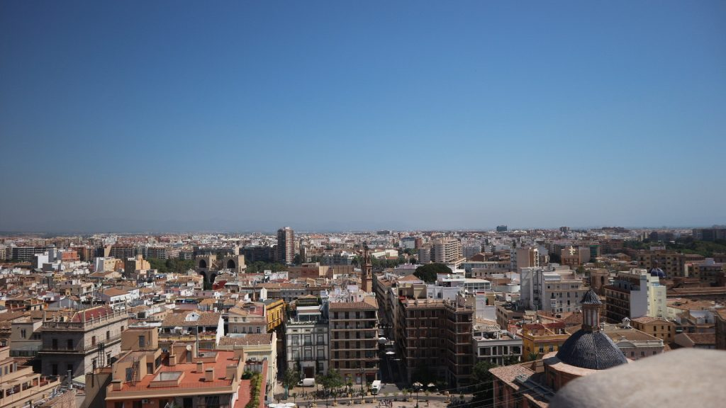 View from Valencia Cathedral