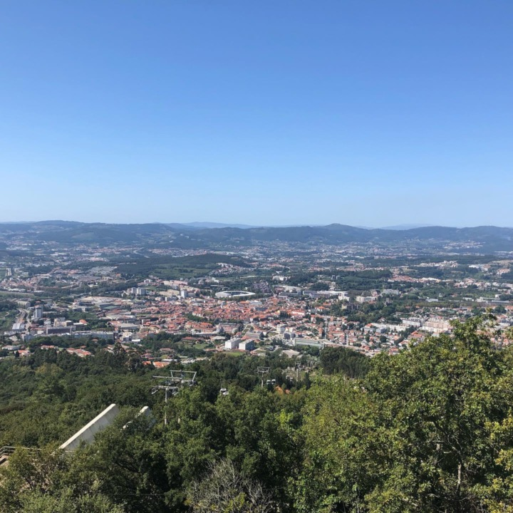 View of Guimaraes from Mountain