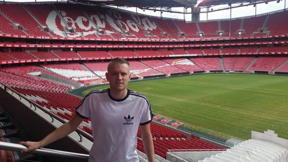 Benfica stadium tour