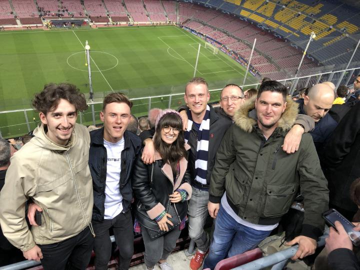 Barcelona v Tottenham Experience