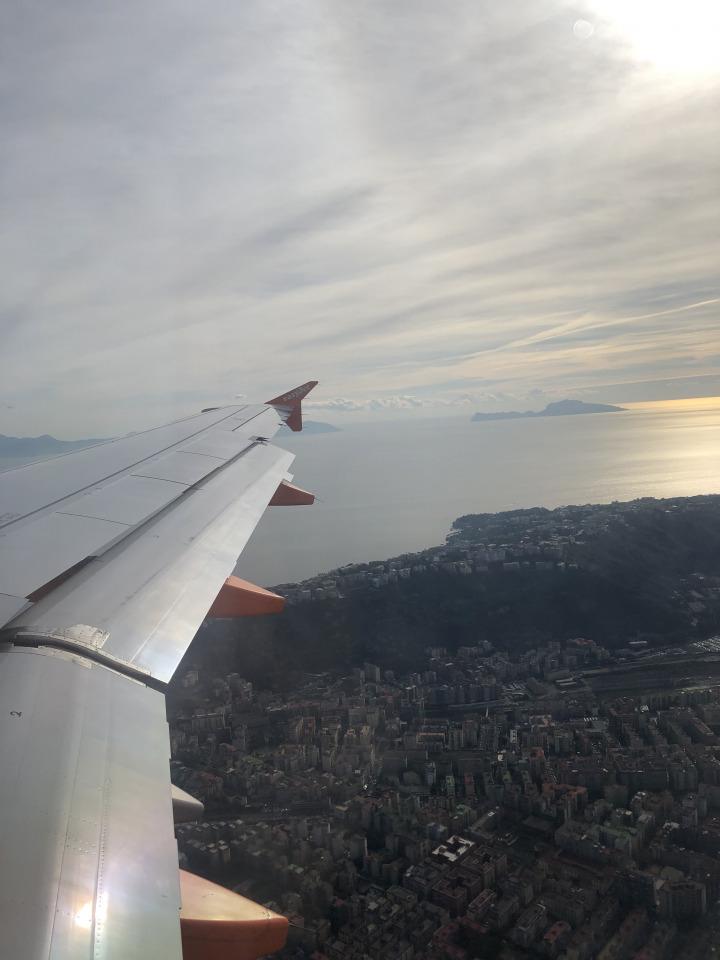 Landing in Barcelona El Prat