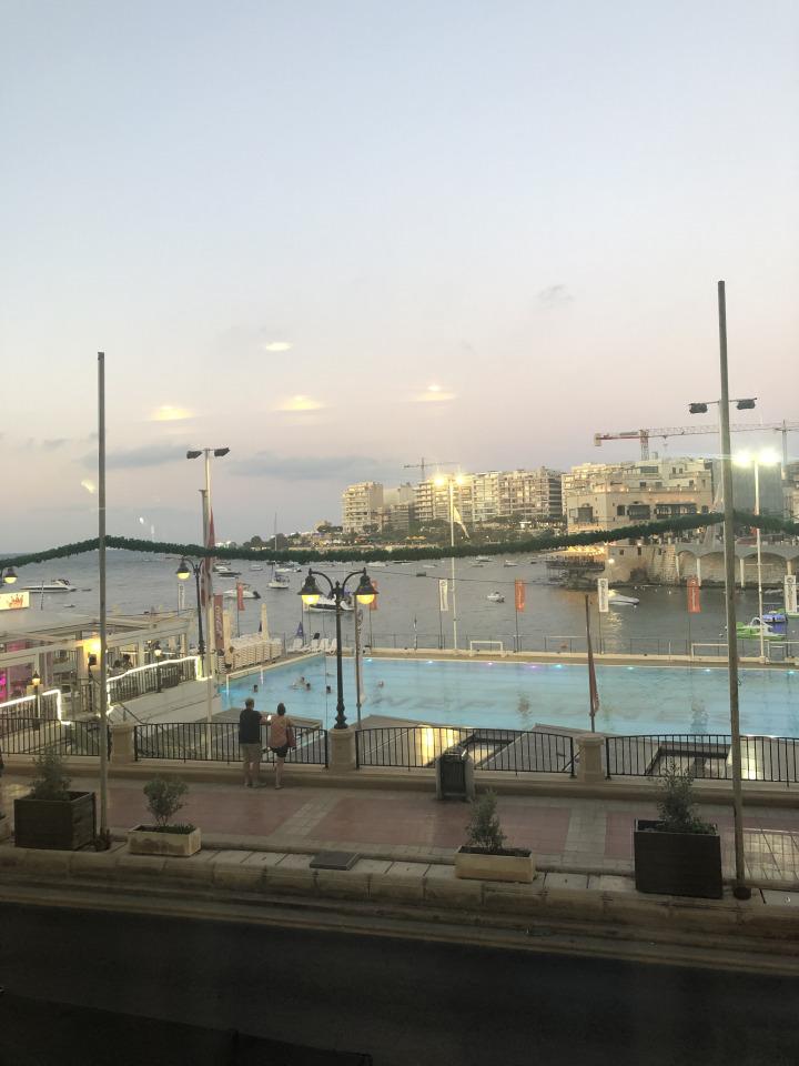 View from Wigi's, Malta