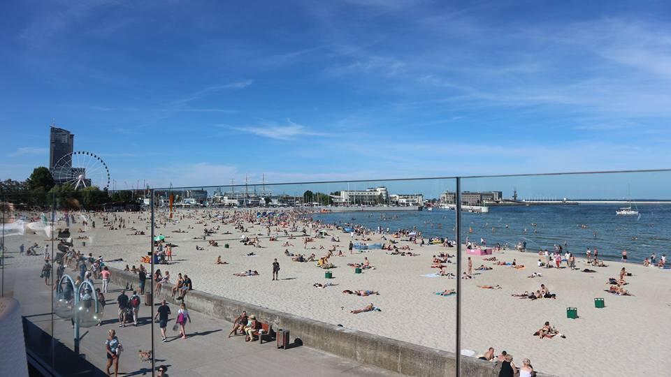 View from Browar Port Gdynia