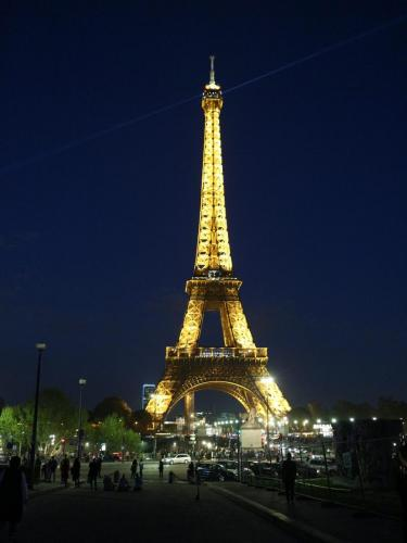 -Eiffel Tower, Paris