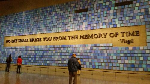 New York - Twin Towers Memorial and Museum