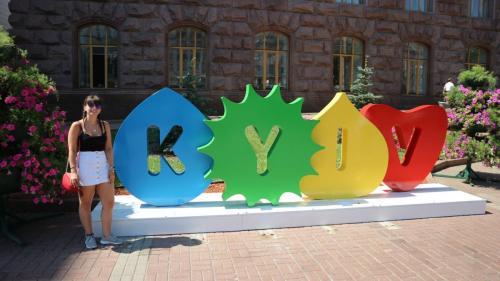 Kiev Sign Ukraine