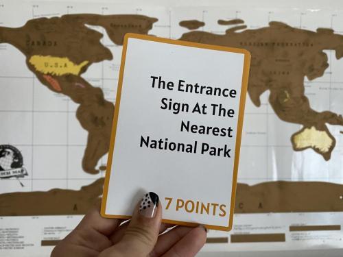 Camera Caper Challenge Card - National Park