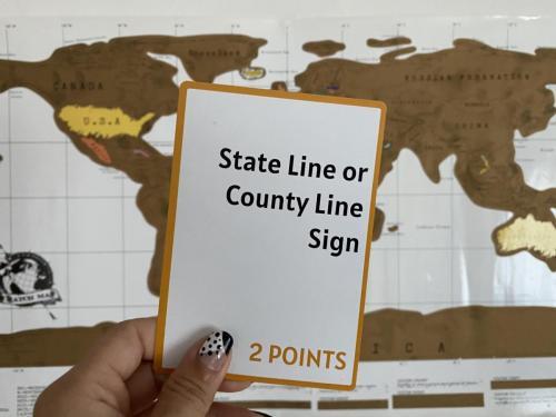 Camera Caper Challenge Card - County Line