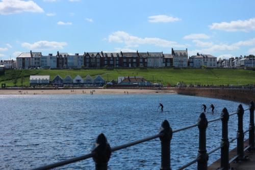 Dolphin Spotting, Roker Pier, Sunderland