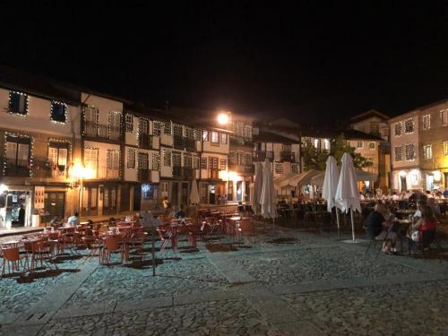 old quarter at night