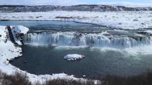 Faxi waterfall - Iceland Golden Circle