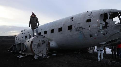 Sólheimasandur plane wreck - Iceland Golden Circle Tour