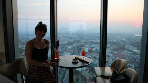 Vinpearl rooftop bar Hue